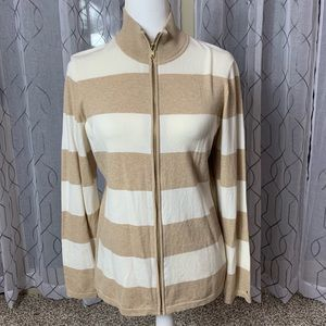 Tommy Hilfiger Full Zip Cardigan Size Large